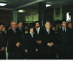 Visita do Sr. Presidente da República, Dr Jorge Sampaio - 2004
