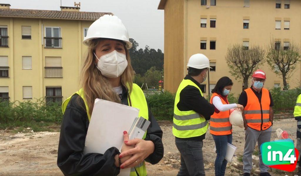 Visita às obras de requalificação e ampliação da Escola Dr. Serafim Leite.