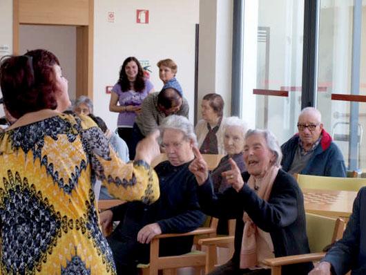 O ensino recorrente na comunidade sénior do Centro Infantil e Social de Cesar